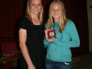 Abbey Waller (U13 Girls Team 2) & Claire Jolley (Coach)