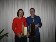 Erin McCurley (Female POY) & Ryan Williams (Male POY)