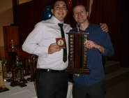 Nathan Doherty (Eagles POY) & Ryan Williams (Coach)