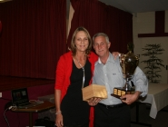 Rick Tummon (Volunteer of the Year) & Sheryl Paterson